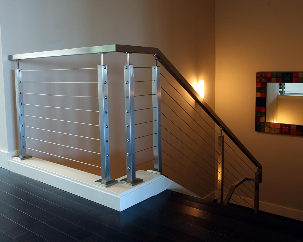Cable deck railing cost - Stainless Steel Cable Railing