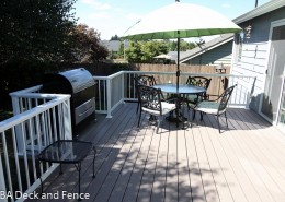 Azek deck with BBQ nook